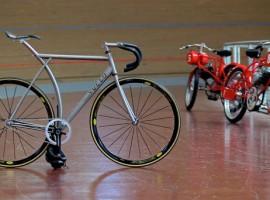 Handgemaakte design racefiets door Vuelo Velo