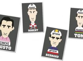 Nieuwe gezichten op t-shirts van Rouleur