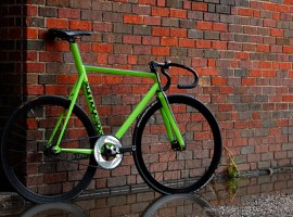 Stanridge Highspeed Pursuit single-speed in limoengroen