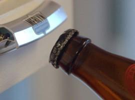 Je biertje openen met een stuk velg van Merlyn