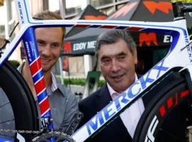 Opening nieuwe Eddy Merckx fietsfabriek 13 mei