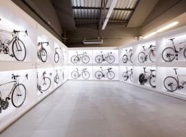 Kijk, dit is nog eens een fietsenwinkel: Pave Culture