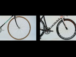 Verschil tussen racefiets 1989 en 2011