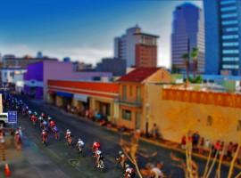 Tilt shift fotografie; leuk alternatief voor wielersport foto's