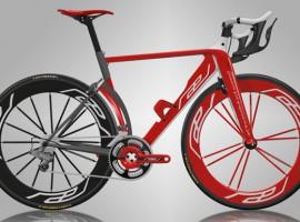 Rael design racefiets verder ontwikkeld