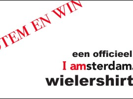 Stem en WIN een Iamsterdam wielershirt