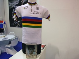 Limited WK shirt van Gianni Bugno door Santini