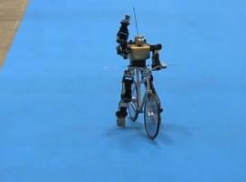Coole Gadget: afstandbestuurbare robot fietser – video