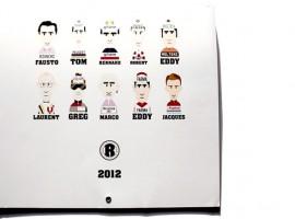 Kalender 2012 van Rouleur met prachtige foto's