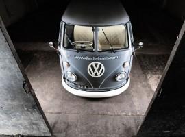 Heh? Volkswagen T1 bus op Racefietsblog?