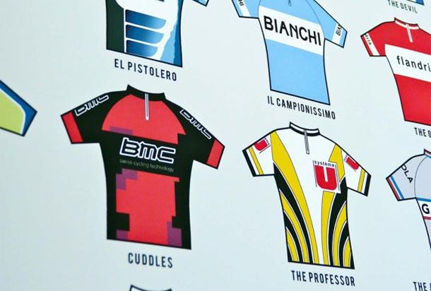 Bijnamen in de wielerwereld, nu in posterformaat