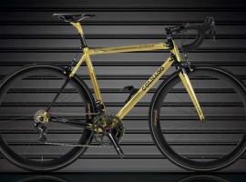 Gouden Colnago C59 Ottanta limited