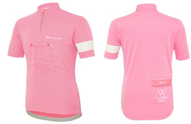 Paul Smith's idee van de Maglia Rosa (roze trui)
