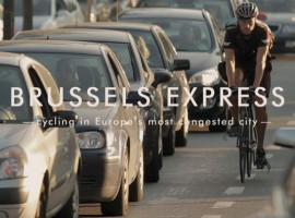 19 minuten film over een fietskoerier in Brussel: Brussels Express