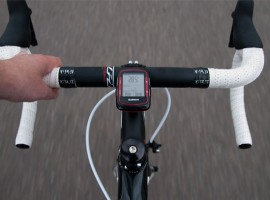Racefietsblog test: Garmin Edge 500 Red & Black