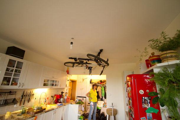 Je racefiets in je woonkamer zonder ruimteverlies met Floaterhoist ...