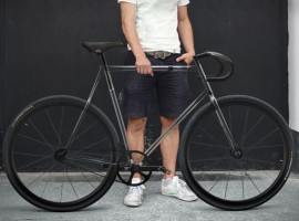De doorzichtige single-speed met de naam: Clarity Bike