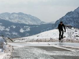 Rapha UK Continentals eerste rit van 2013 –  Wales, the Bryan Chapman