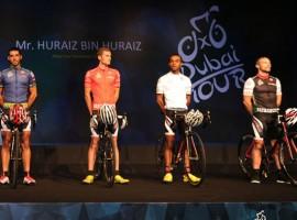 Modehuis Versace ontwerpt ook wielershirts – Dubai Tour