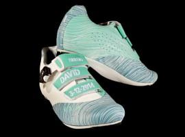 Groene Fizik Tirreno schoenen van Millar