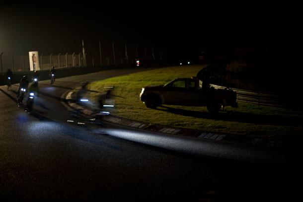 donker-wielrennen
