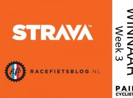 Winnaar weekchallenge 3 van Racefietsblog's Strava challenge maand!