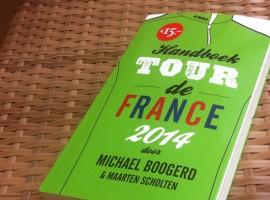 Leesvoer: Handboek Tour de France 2014 en weggeef aktie!