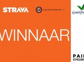 Winnaar maandchallenge van Racefietsblog's Strava challenge maand!