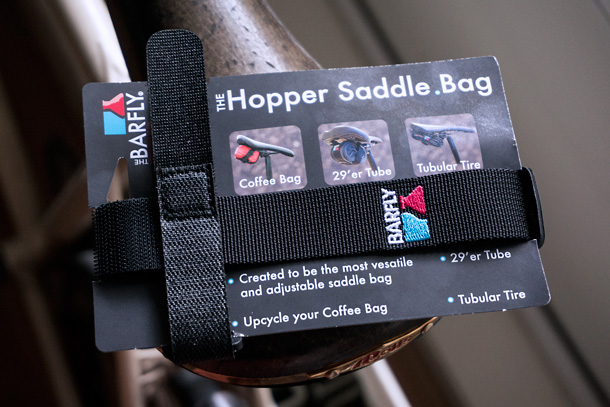Bar Fly Hopper saddle bag  | Racefietsblog.nl