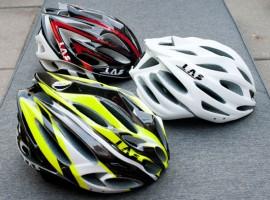 Racefietsblog test: drie Las helmen
