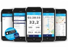 BBB BikeBoard App als fietscomputer