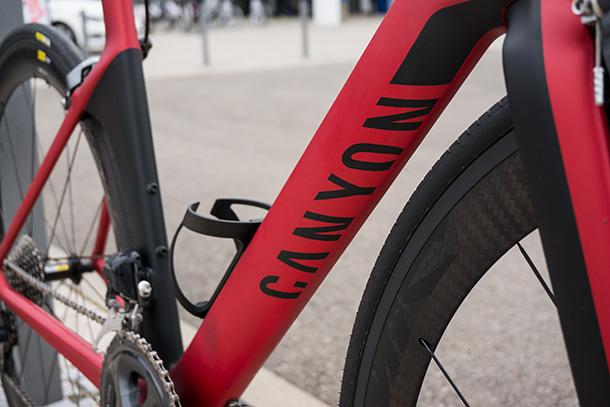 Canyon Aeroad CF SLX at Eurobike 2014  |  Full review at Racefietsblog.nl