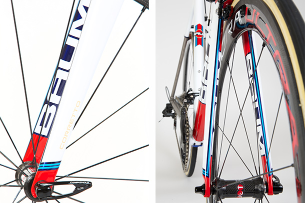 Baum Corretto with Martini striping (photo by Léon van Bon)  |  Racefietsblog.nl