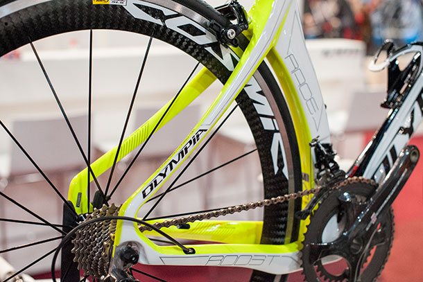 Olympia Boost at Bikemotion 2014 | Racefietsblog.nl