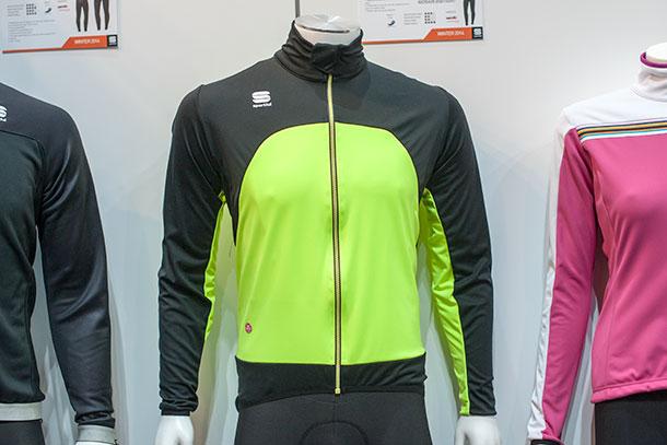 Sportful Fiande Light WS Jacket at Bikemotion 2014 | Racefietsblog.nl