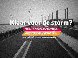 Eneco NK Tegenwindfietsen 2014 is daar en we mogen kaarten weggeven!