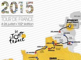 Route Tour de France 2015 is bekend