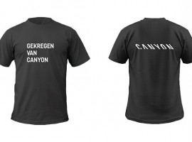 Draag Canyon en win een fiets op BikeMotion!