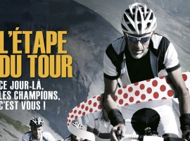 Mooi doel om de winter mee door te komen; L'Étape du Tour