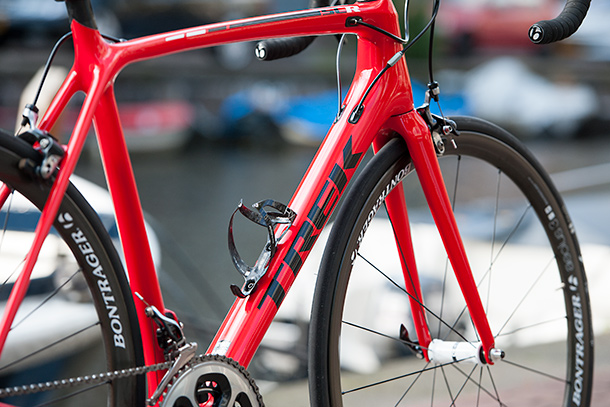 Trek Émonda SLR 8 with Dura Ace and Bontrager Aeolus 3 wheels | Full review at Racefietsblog.nl