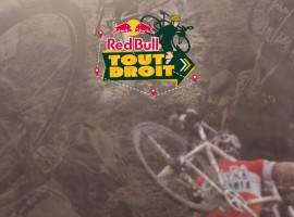 Red Bull tout droit Cyclocross wedstrijd 2014