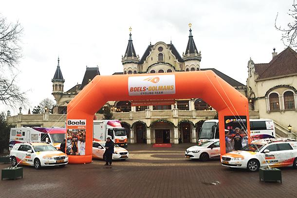 Boels-Dolmans Cycling Team presentation in the Efteling