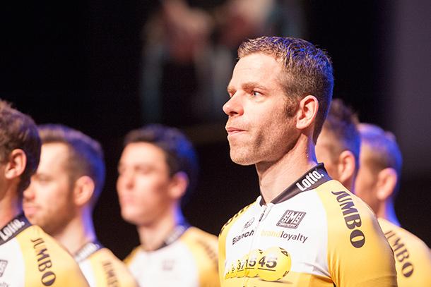 Team LottoNL-Jumbo presentation with Bram Tankink  |  Racefietsblog.nl