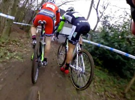 On-board beelden cyclocross