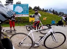 Downhill met de racefiets – Video