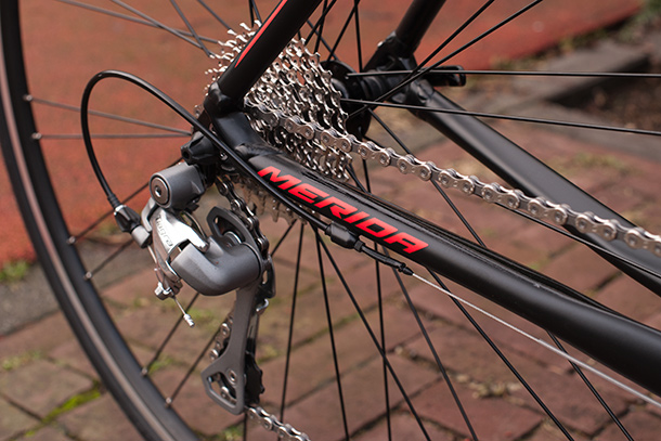 Merida Ride 300 with Shimano Tiagra triple groupset | Full review at Racefietsblog.nl