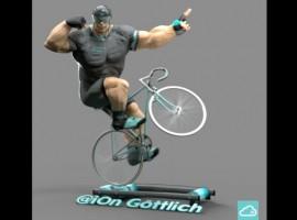 Gespierd een wheelie op de rollers – deel 2