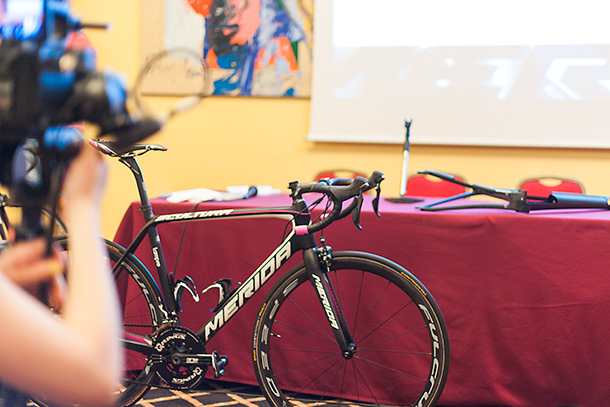 The new Merida Scultura 2016 being presented to the press  |  Racefietsblog.nl