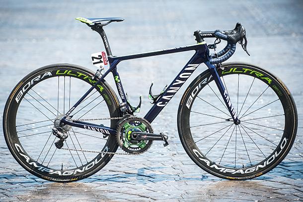 Nairo Quintana's all new Canyon Ultimate CF SLX Team Mobistar edition