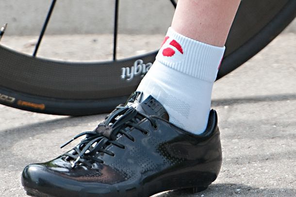 Bontrager RXL socks | See the full review at Racefietsblog.nl